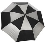 "Wilson Ultra™ 62"" Silver and Black Umbrella"