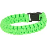 Bison Designs Side-Release Small Green Coreless Paracord Bracelet