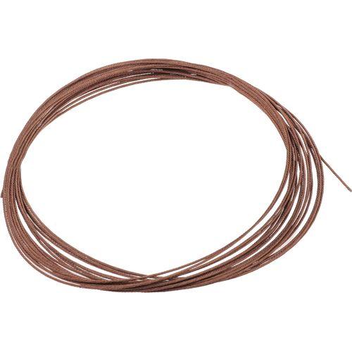 Academy american fishing wire 49 strand 175 lb 30 39 coil for Fishing wire leader