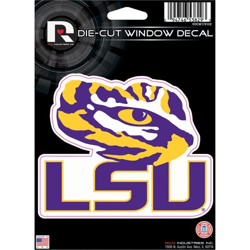 Rico Louisiana State University Die-Cut Decal