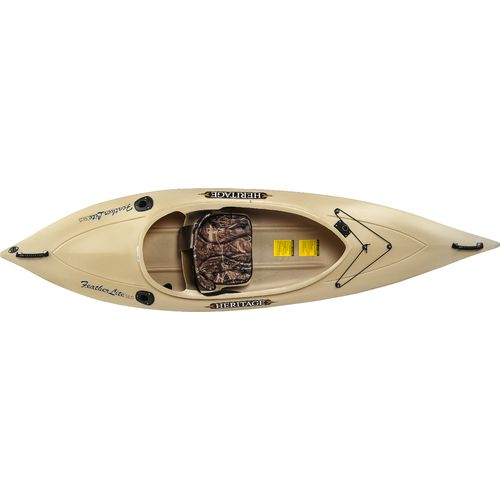 Heritage feather lite angler 9 39 6 sit in fishing kayak for Fishing kayak academy