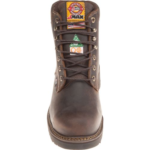 Justin Men's Steel Toe Work Boots - view number 4