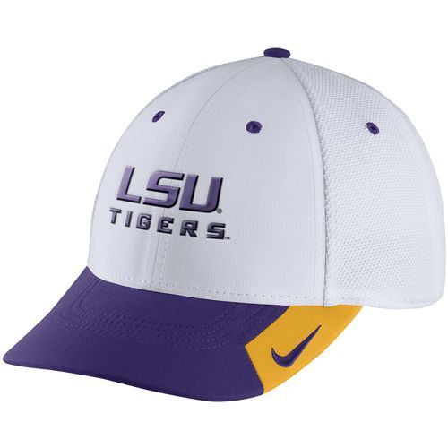 Nike Adults  Louisiana State University Conference Legacy 91 Swoosh Flex Cap