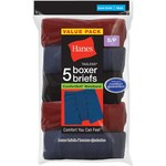 Hanes Boys' TAGLESS® Boxer Briefs 5-Pack