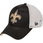 New Era Women's New Orleans Saints 9FORTY Satin Chic Cap