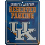 Rico University of Kentucky Metal Parking Sign