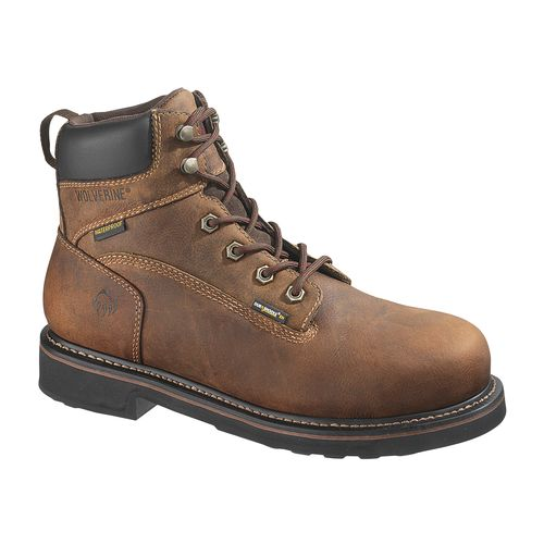 Display product reviews for Wolverine Men's Brek DuraShocks Steel-Toe EH Work Boots