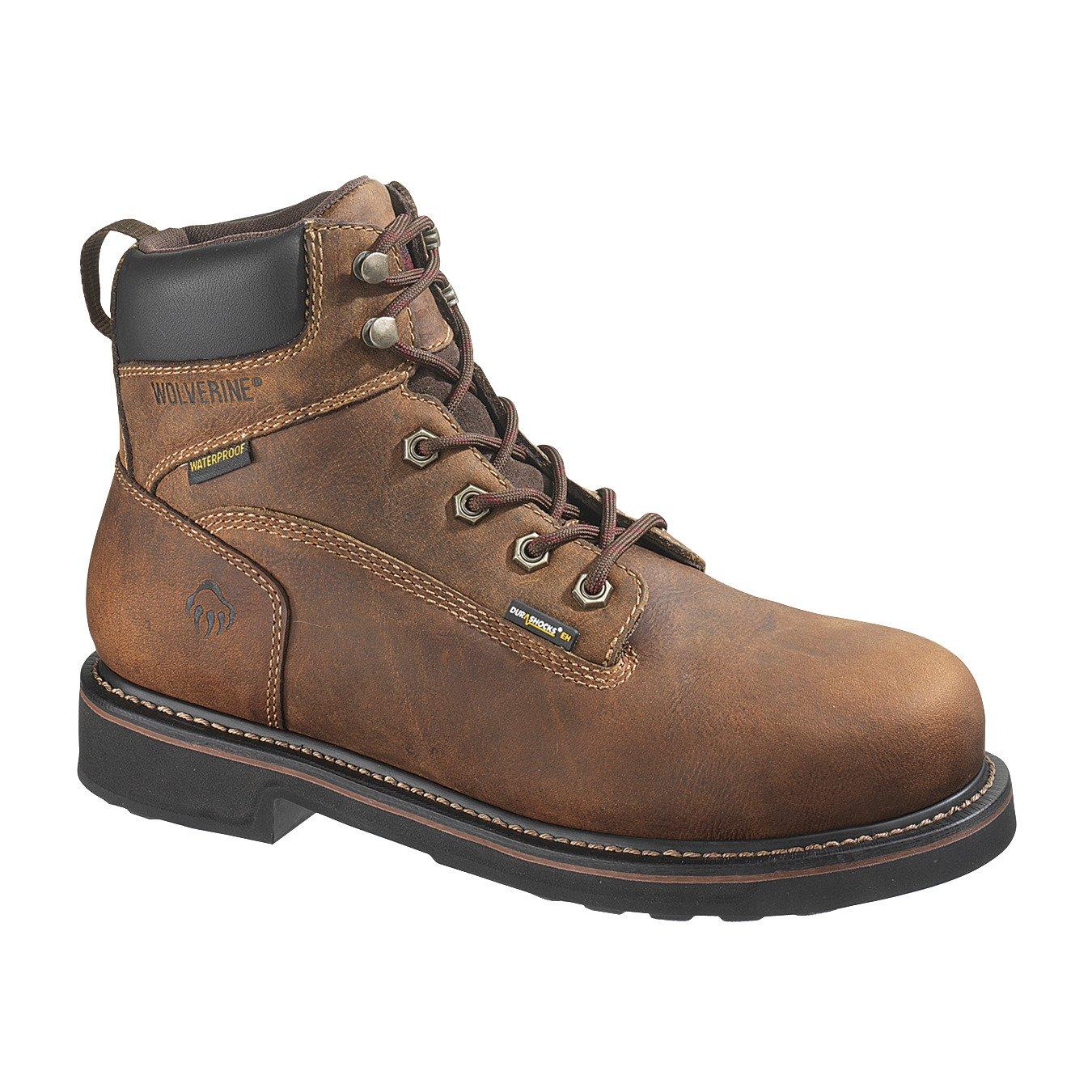 Display product reviews for Wolverine Men's Brek DuraShocks Steel-Toe EH Work Boots
