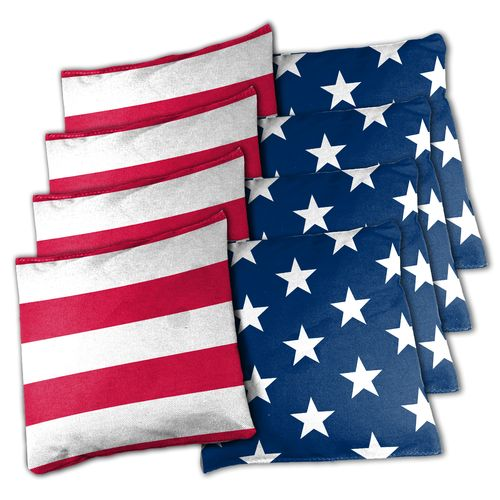Wild Sports Stars & Stripes Edition Regulation Tailgate Toss XL Bean Bag Set