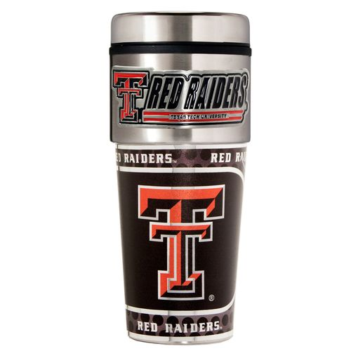 Great American Products Texas Tech University 16 oz. Travel Tumbler