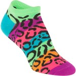 BCG™ Girls' Animal Print No-Show Socks 6-Pack