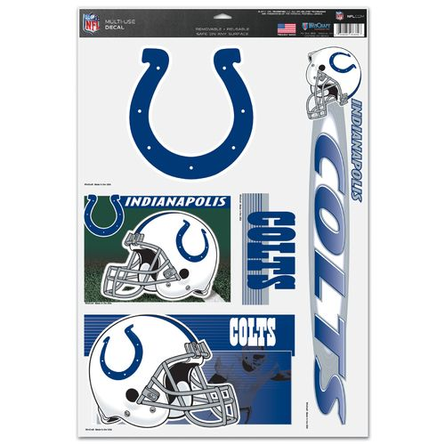 "WinCraft Indianapolis Colts 11"" x 7"" Multiuse Decal"