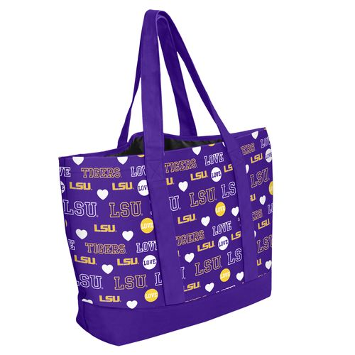 Forever Collectibles™ Women's Louisiana State University 2014 Mural Love Tote Bag