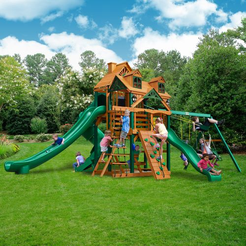 Gorilla Playsets™ Malibu Deluxe II™ Swing Set - view number 2