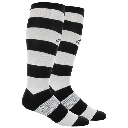 adidas Adults' Metro Hoop Over the Calf Soccer Socks