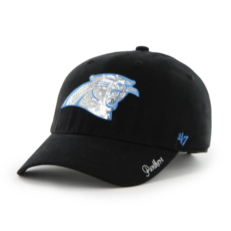 '47 Women's Carolina Panthers Sparkle Cap