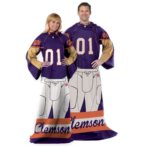 The Northwest Company Clemson University Uniform Comfy Throw