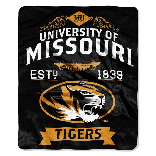 The Northwest Company University of Missouri Label Raschel Throw