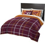 The Northwest Company Virginia Tech Full Comforter and Sham Set