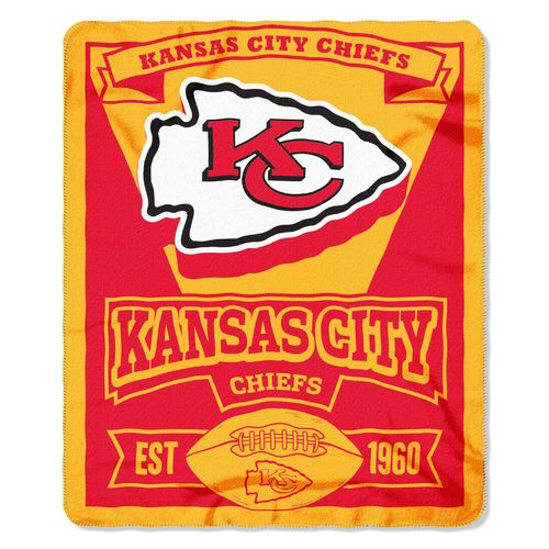 The Northwest Company Kansas City Chiefs Marquee Fleece Throw