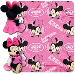 The Northwest Company New York Jets Minnie Mouse Hugger and Fleece Throw Set