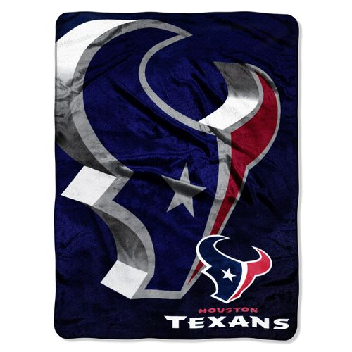 The Northwest Company Houston Texans Bevel Micro Raschel Throw