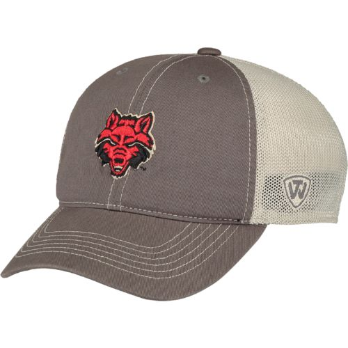 Top of the World Adults' Arkansas State University Putty Cap