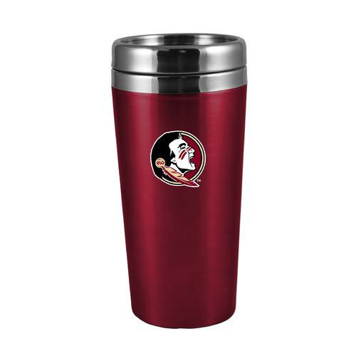 The Fanatic Group Florida State University 16 oz. Rubberized Stainless-Steel Tumbler