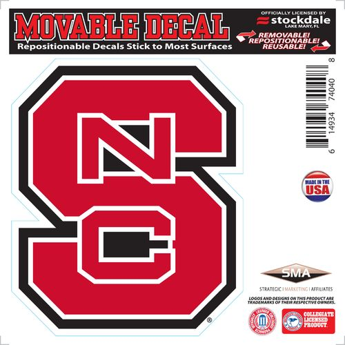 Stockdale North Carolina State University 6' x 6' Decal