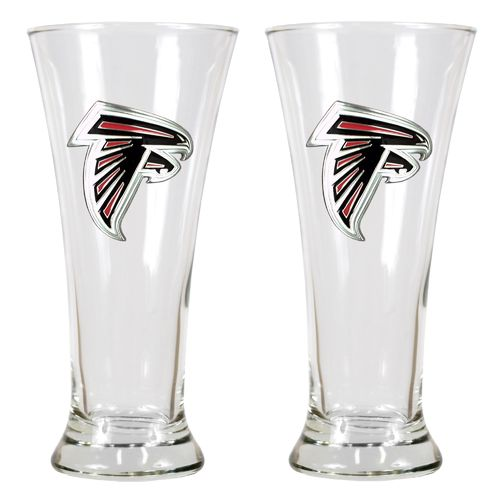 Great American Products Atlanta Falcons 19 oz. Pilsner Glasses 2-Pack