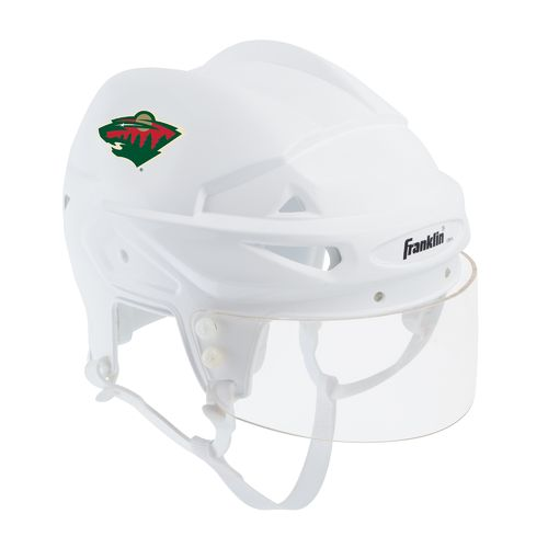 Franklin Minnesota Wild Mini Player Collectible Helmet
