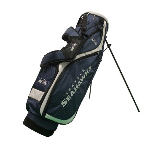 Team Golf Seattle Seahawks Nassau Stand Golf Bag