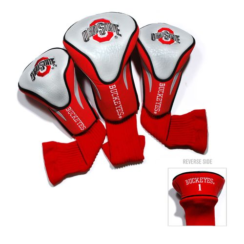 Team Golf Ohio State University Contour Sock Head Covers 3-Pack - view number 1