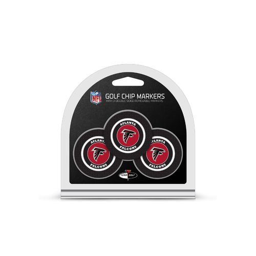 Team Golf Atlanta Falcons Poker Chip and Golf Ball Marker Set - view number 1