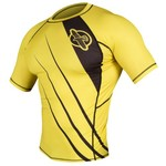 Hayabusa Fightwear Men's Recast Short Sleeve Rash Guard - view number 3