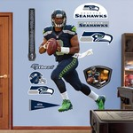 Fathead Seattle Seahawks Russell Wilson Home Real Big Wall Decal