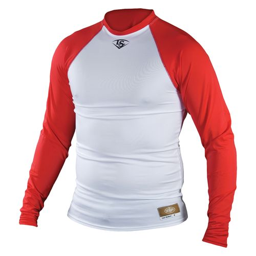 Louisville Slugger Men's Long Sleeve Raglan Compression Shirt