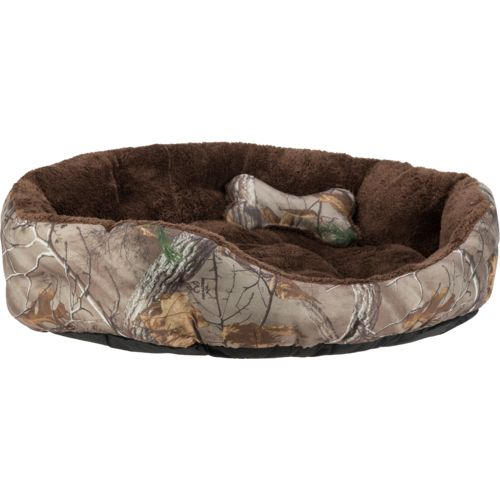 Magellan Outdoors™ Realtree Xtra® Large 2-Piece Dog Bed and Plush Bone Toy Set
