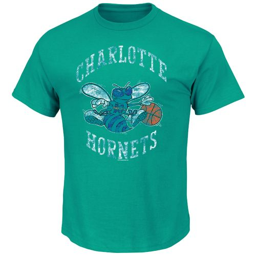 Majestic Men's Charlotte Hornets Post Up Crew Neck