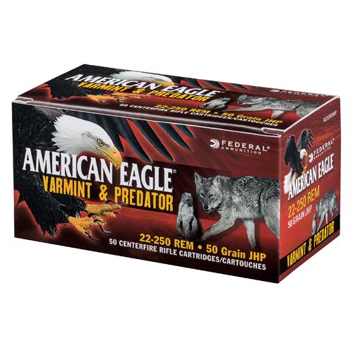 Display product reviews for Federal® American Eagle® Varmint and Predator Full Metal Jacket .223 Remington 50-Grain Ammunition