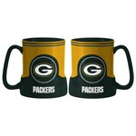 Boelter Brands Green Bay Packers Gametime 18 oz. Mugs 2-Pack