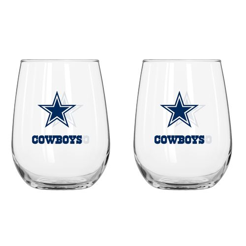 Boelter Brands Dallas Cowboys 16 oz. Curved Beverage