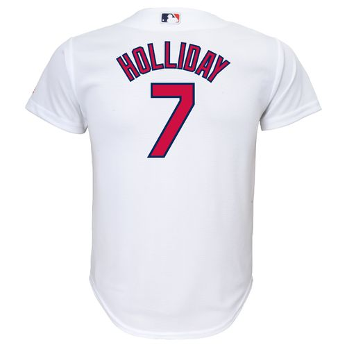 Majestic Boys' St. Louis Cardinals Matt Holliday #7 Cool Base Home Replica Jersey