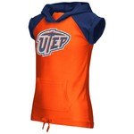 Colosseum Athletics Girls' University of Texas at El Paso Jewel Short Sleeve Hoodie