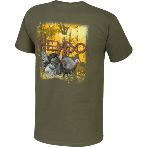Display product reviews for Heybo Adults' Spring Turkey T-shirt