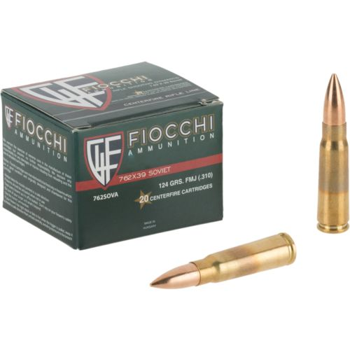 Fiocchi Shooting Dynamics 7.62 x 39mm Soviet 123-Grain