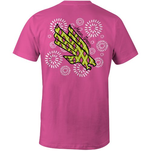 Image One Women's University of North Texas Fireworks Comfort Color T-shirt