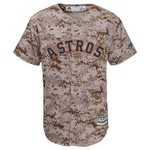 Majestic Boys' Houston Astros Camo Jersey
