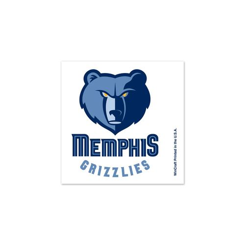 WinCraft Memphis Grizzlies Tattoos 4-Pack