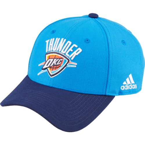 adidas™ Men's Oklahoma City Thunder Back Wordmark Cap